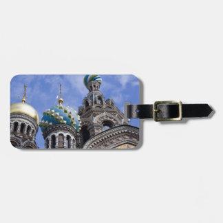 ロシア、セント・ピーターズバーグ、Nevsky Prospekt、2 バッグタグ
