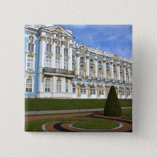 ロシア、セント・ピーターズバーグ、Pushkin、キャサリン 5.1cm 正方形バッジ