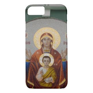 ロシア、モスクワのすずめの丘、トリニティ教会 iPhone 8/7ケース