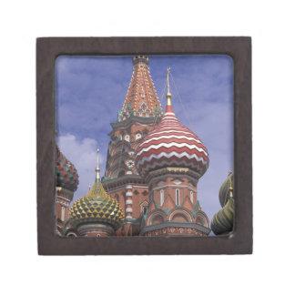 ロシア、モスクワの赤の広場。 St.の有名なタマネギ ギフトボックス