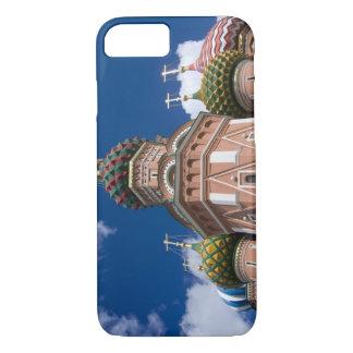 ロシア、モスクワの赤の広場。 St.ベズル2 iPhone 8/7ケース