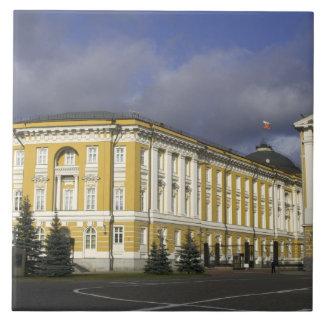 ロシア、モスクワ、クレムリンの上院宮殿、 タイル