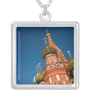 ロシア、モスクワ、クレムリン、Vasiliyは賛美しました シルバープレートネックレス