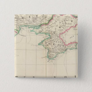 ロシア、ヨーロッパ22 5.1CM 正方形バッジ