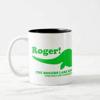 ロジャース湖モンスター ツートーンマグカップ