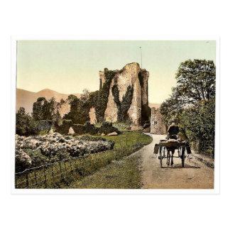 ロスの城、II. Killarney。 Co.ケリー、アイルランドrar ポストカード