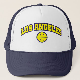 ロスアンジェルスのバスケットボール キャップ