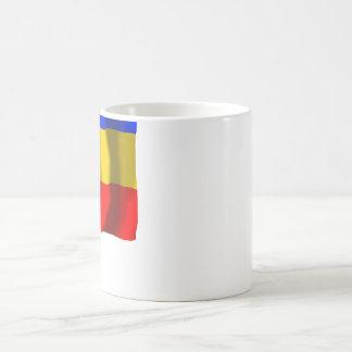 ロストフOblastの旗 コーヒーマグカップ