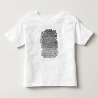 ロゼッタ石、城砦St. Julienからの、 トドラーTシャツ