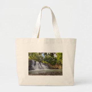 ロチェスターは滝Souillacマリシャスの落ちます ラージトートバッグ