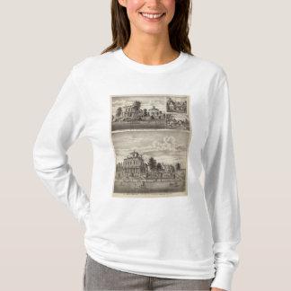 ロチェスター、ミネソタの住宅 Tシャツ