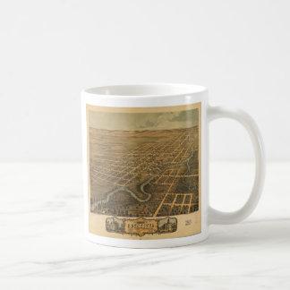 ロチェスターOlmsted郡ミネソタ(1869年) コーヒーマグカップ