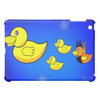 ロッカーのアヒル iPad MINIケース