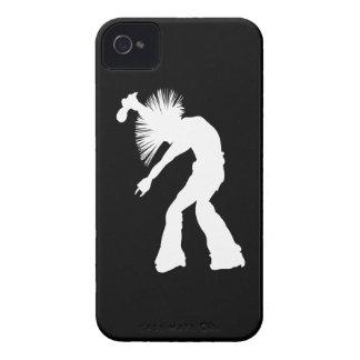 ロッカーのシルエット Case-Mate iPhone 4 ケース