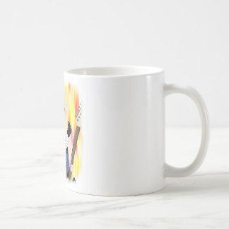 ロッカーの女の子 コーヒーマグカップ