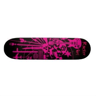 ロッカーの女の子 20CM スケートボードデッキ