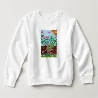ロッカーの子猫 スウェットシャツ