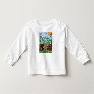 ロッカーの子猫 トドラーTシャツ