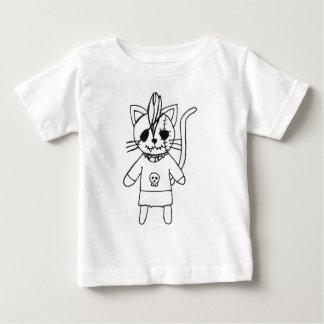 ロッカーの子猫 ベビーTシャツ