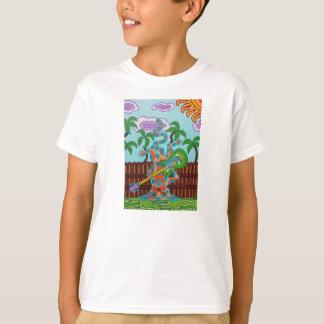 ロッカーの子猫 Tシャツ