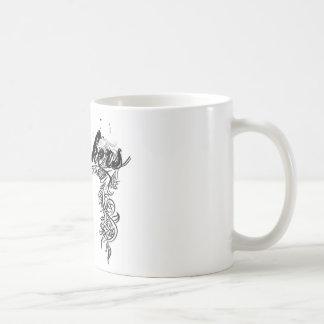 ロッカーの渦巻のデザイン コーヒーマグカップ
