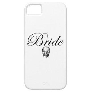 ロッカーの花嫁のゴシックのスカル iPhone SE/5/5s ケース
