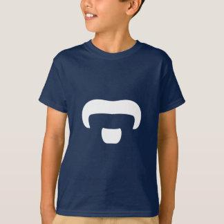 ロッカーの髭 Tシャツ