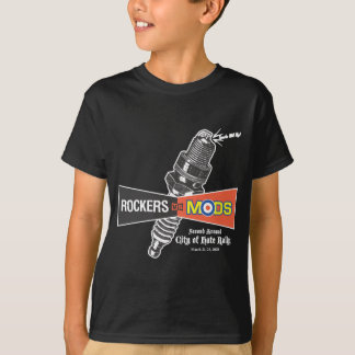 ロッカー対ModsダラスII Tシャツ