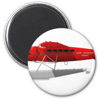 ロッキードVegaの浮遊物の飛行機 マグネット