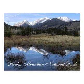 ロッキー山国立公園の郵便はがき ポストカード