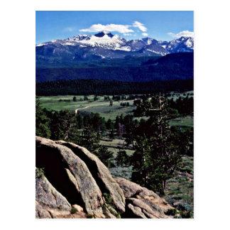 ロッキー山国立公園 ポストカード