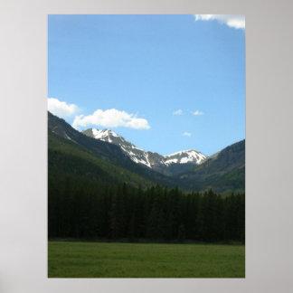 ロッキー山国立公園II ポスター