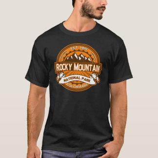 ロッキー山脈のカボチャ Tシャツ
