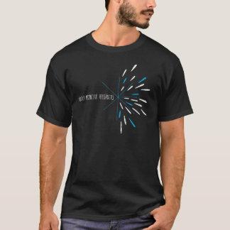 ロッキー山脈のレコーダーの破烈のワイシャツ Tシャツ