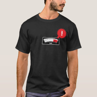 ロッキー山脈のレコーダーVUのメートルのティー Tシャツ