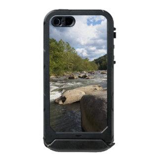 ロッキー山脈の川の地図書のiPhoneの場合 ウォータープルーフiPhone SE/5/5sケース