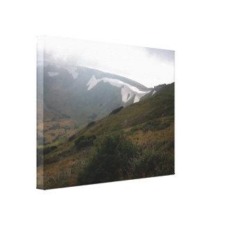 ロッキー山脈の春 キャンバスプリント