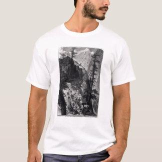 ロッキー山脈の最近発見された鉱山 Tシャツ