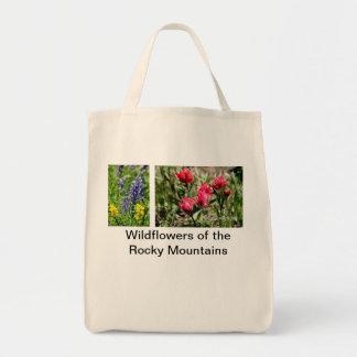 ロッキー山脈のWindflowers トートバッグ