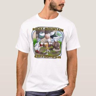 ロッキー山脈クラブロゴ Tシャツ