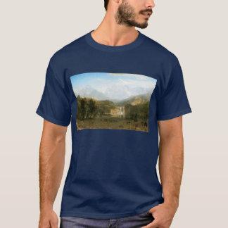 ロッキー山脈、アルバートBierstadt著Landerのピーク Tシャツ