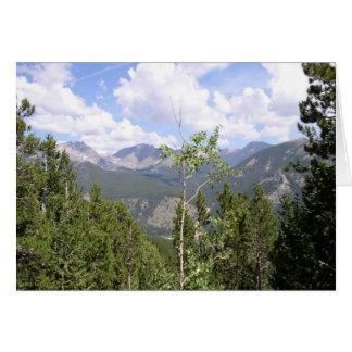 ロッキー山脈 カード