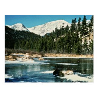 ロッキー山脈、国立公園 ポストカード