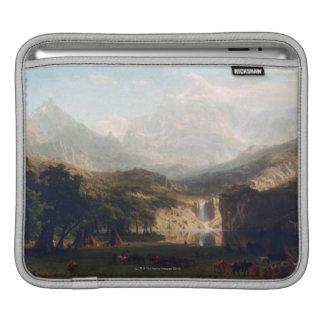 ロッキー山脈 iPadスリーブ