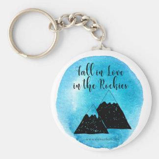 ロッキー山脈Keychainで恋に落ちて下さい キーホルダー