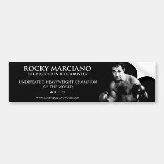ロッキー・マルシアノのバンパーステッカー バンパーステッカー