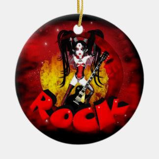 ロックのOh LaのLaの月-ゴシック様式石の吸血鬼 セラミックオーナメント