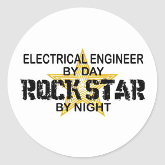 ロックスターによる電気技師 ラウンドシール