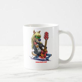 ロックスターのコーヒー・マグおよびビールジョッキ コーヒーマグカップ