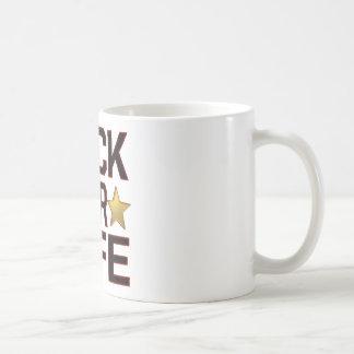 ロックスターの生命 コーヒーマグカップ